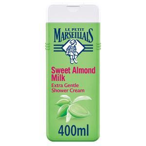 Le Petit Marseillais Body Wash Sweet Almond Extra Gentle Shower Cream 400ml