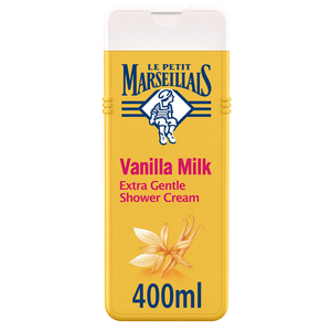 Le Petit Marseillais Body Wash Vanilla Milk Extra Gentle Shower Cream 400ml