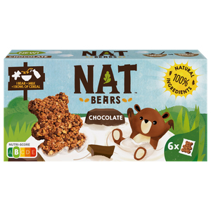 NAT Bear Cereals With Chocolate 32g