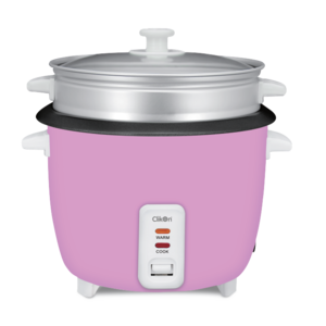 Clikon Rice Cooker With Steamer 1L