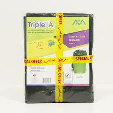 Tripple A Garbage Bag 80x110cm - 15pcs