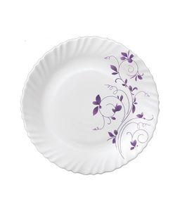 La Opala Dazle Purple Oval Rice Plate 32cm