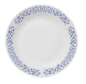 La Opala Plain White Oval Rice Plate 32cm