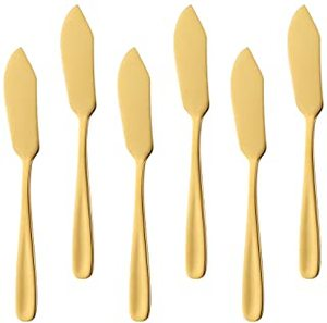 Olympia Deluxe Lavish Dinner Knife Gold 3pcs
