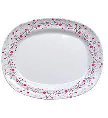 "Spring Pink Dinner Plates 12.25""/31cm"