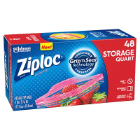 Ziploc Storage Bags 48s