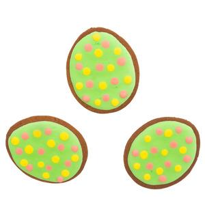 Egg Shape Cookies Medium 3pack