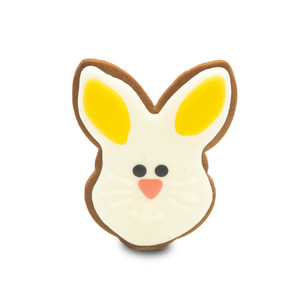 Bunny Face Shape Cookies Large 1pc