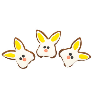 Bunny Face Cookies Medium 3pack