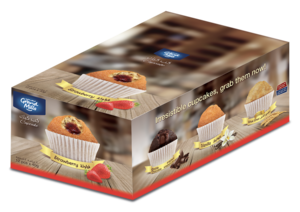 Grand Baker Strawberry Cup Cake 12x40g