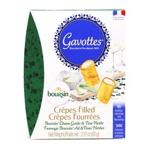 Gavottes Crepe Boursin Cheese 60g