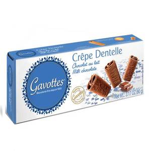 Gavottes Crepe Dentelle Milk Chocolate 60g