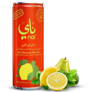 Nai's Moroccan Mint Tea 100% Natural Can 250ml