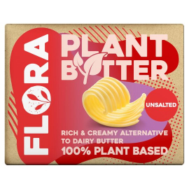 Flora Butter Plant Unsalted 250g