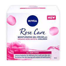 Nivea Face Rose Gel Cream 50ml