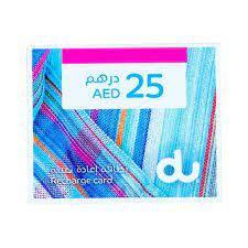 Du E-Voucher AED 25 1pc