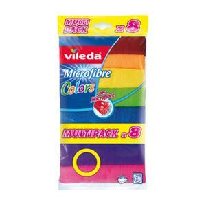 Vileda Multipack Microfiber Cloth 8pcs