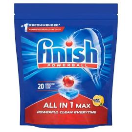 Finish All In 1 Lemon Tab 2x20s