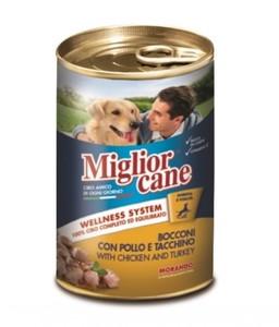 Miglor Chunks Chicken Turkey Dog Wet 1pc
