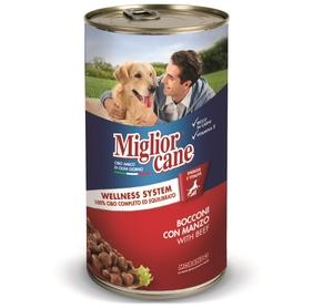 Miglor Chunks Beef Dog Wet Food 1pc