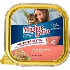 Miglor Salmon Cat Wet Food 1pc