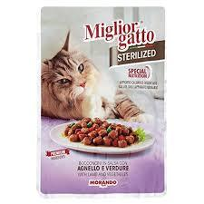 Miglor Chunks In Sauce With Lamb & Vegetable 85g