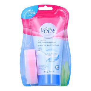 Veet Silk & Fresh Hair Removal Cream for Sensitive Skin 150g