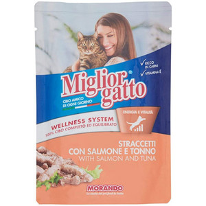 Miglor Gatto Strips Salmon Tuna 1pc