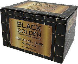 Black Golden Charcoal Box 1pc
