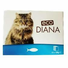 Eco Diana Food For Cats Chicken With Fish 100g