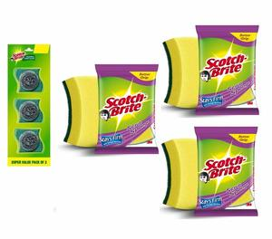3M Scouring Combo Pack 1set