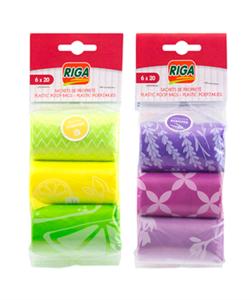 Riga Perfumed Plastic Poop Bag 1pc
