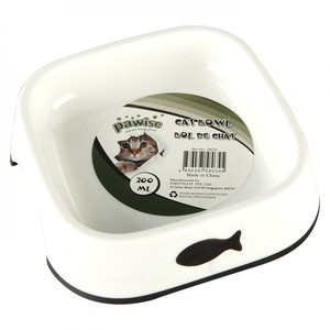 Pawise Plastic Cat Bowl 1pc