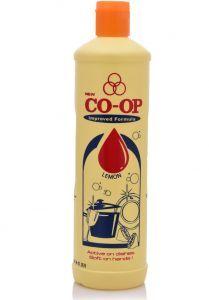 Co-Op Dish Washing Liquid Lemon 500ml