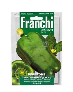Franchi Vegetable Pepper Yolo Wonder 1pc