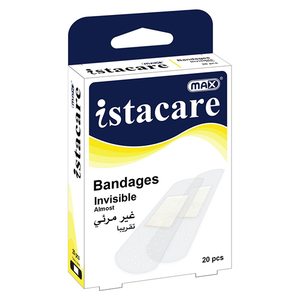 Max Istacare Bandages Transparent 1pc