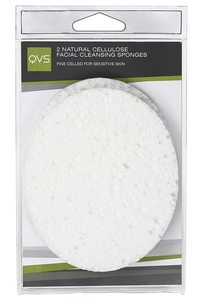 Qvs Natural Cellulose Facial Clean 1pc