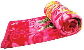 Na Milky Printed Blanket Single 1pc