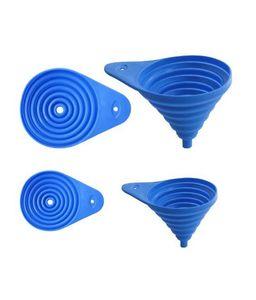Cuisineart Folding Funnels Set 15Cm Blue 1pc