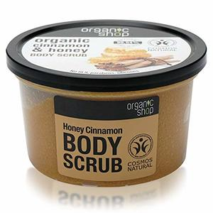 Organic Shop Body Scrub Honey Cinnamon 250ml