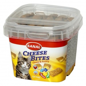 Sanal Cat Cheese Bites Cup 75g