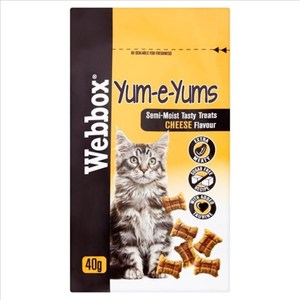 Pets Choice Webbox Cat Treat Yums 1pc