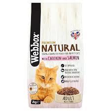 Pets Choice Webbox Natural Cat Food Health 1pc