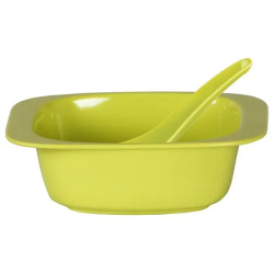 Superware Soup Bowl 10Incwt Green/Green 1pc