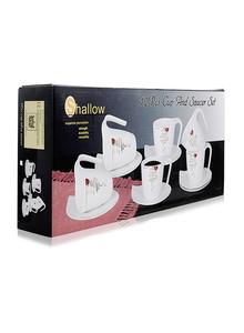 Shallow Cup & Saucer 90Ml 1set