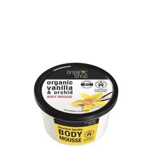 Organic Shop Body Moussee Bourbon Vanilla 250ml