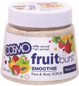 Cosmo Mixed Fruit Face & Body Scrub 500ml