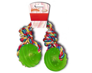 Pawise Balls With Rope 1pc