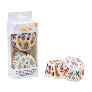 Decora Baking Cups Fairy Tales Pack 36pcs
