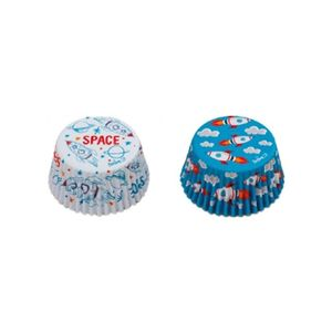 Decora Baking Cups Space Pack 36pcs